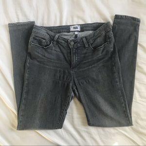 Paige Verdugo Ultra Skinny Gray Jeans